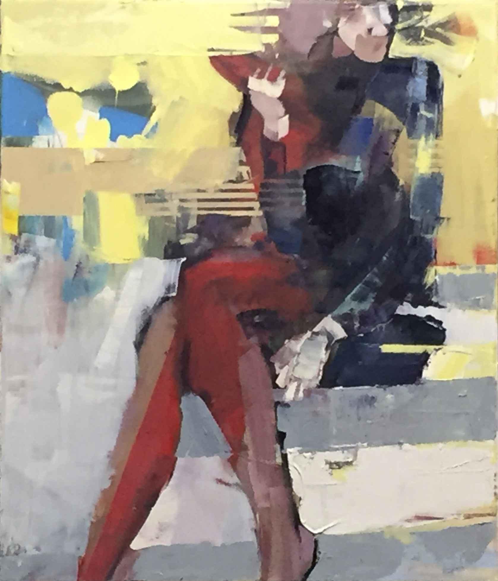 Integration: Woman Se... by Mr. Michael Azgour - Masterpiece Online