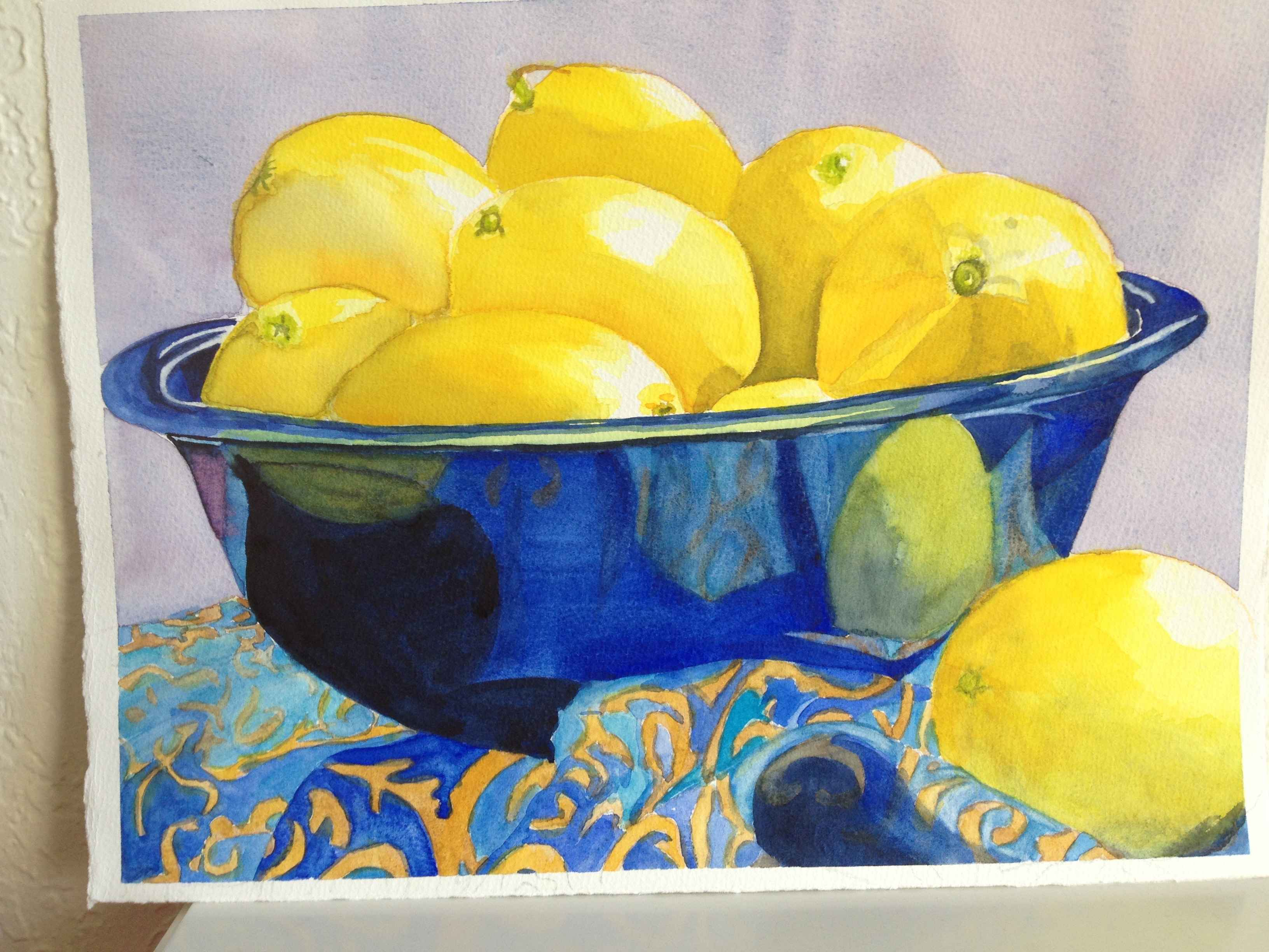 Teri's Lemons by  Carolyn Streed - Masterpiece Online