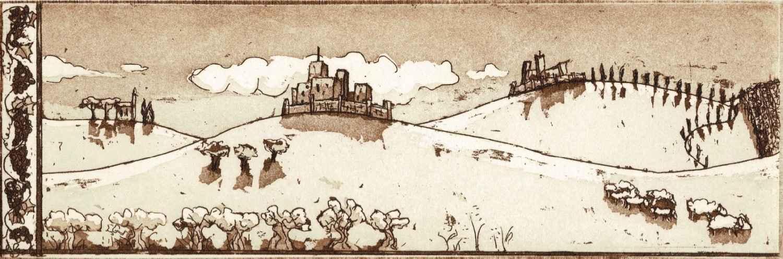 Italie, horizon toscan by  Béatrice ARCHINARD - Masterpiece Online