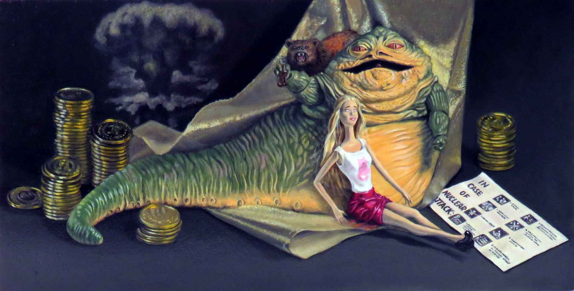 Big Mouth Big Trouble... by  Carey Armstrong-Ellis - Masterpiece Online