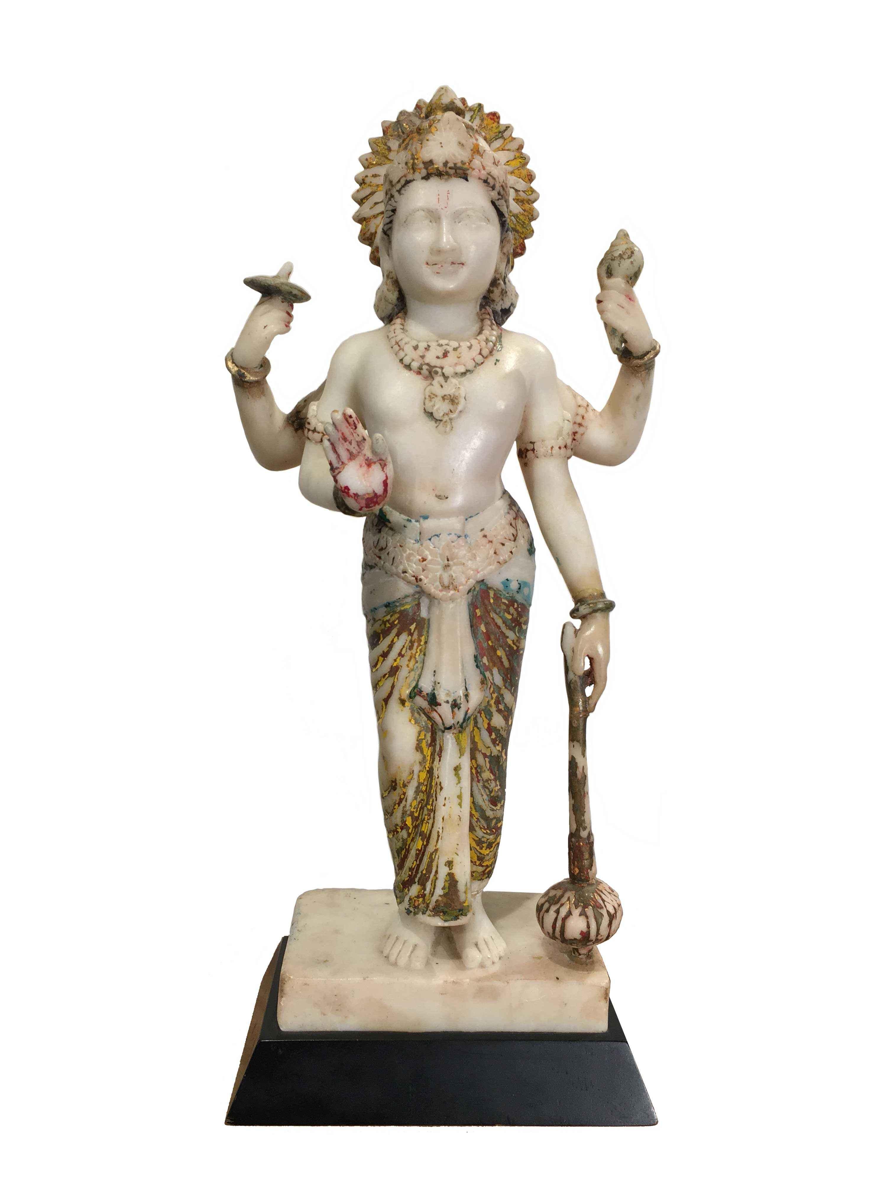 INDIAN MARBLE VISHNU by    - Masterpiece Online