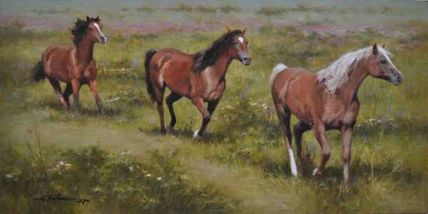 The Chestnut Leads by  Hodges Soileau - Masterpiece Online