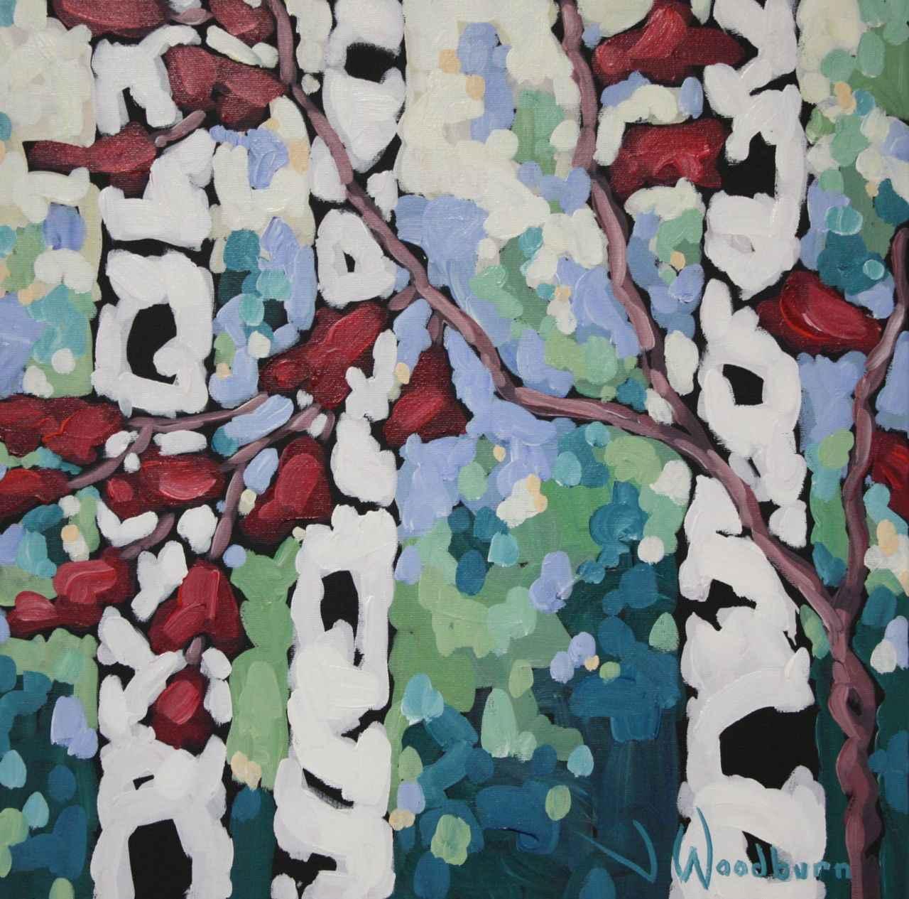 Lush Foilage by Ms Jennifer Woodburn - Masterpiece Online
