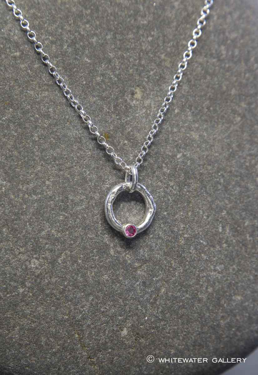 Halo Pendant with Pin... by  Marsha Drew - Masterpiece Online