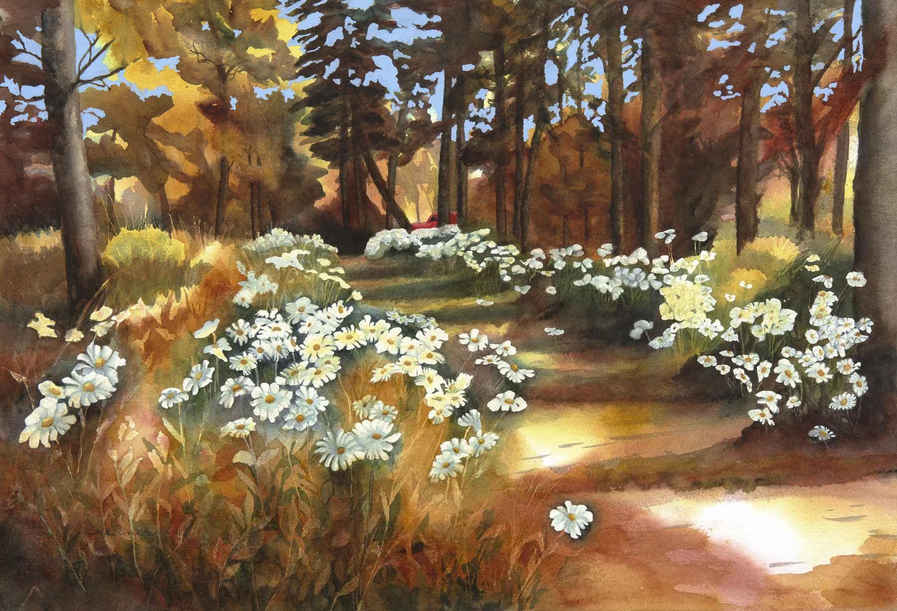 Golden Path by  Sue Emer - Masterpiece Online