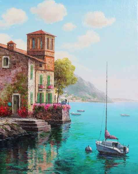Resting Sailboat by  Soon Ju Choi  - Masterpiece Online