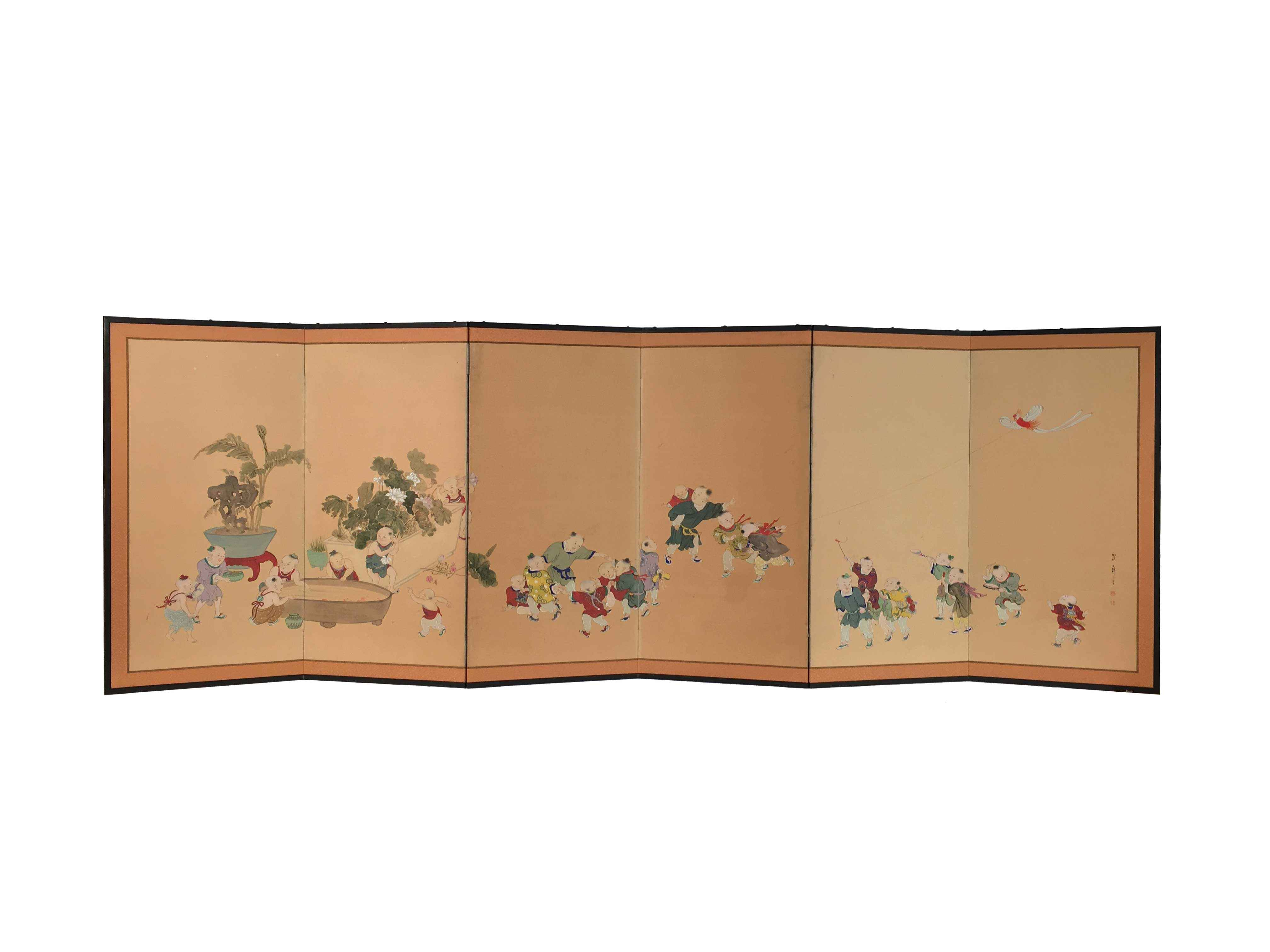 JAPANESE 6 PANEL KARA... by    - Masterpiece Online