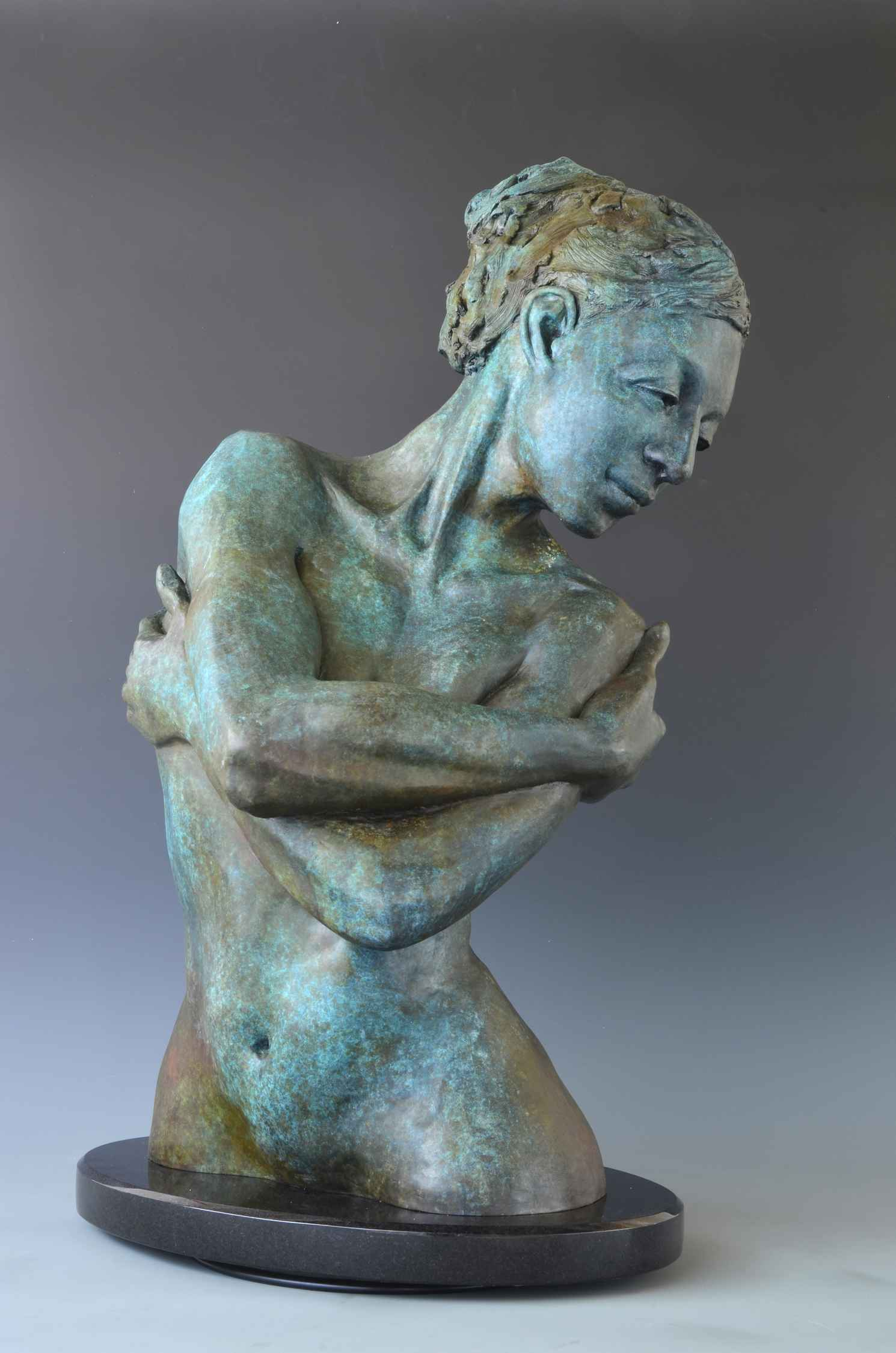 Embrace with Verde Pa... by  David Varnau - Masterpiece Online