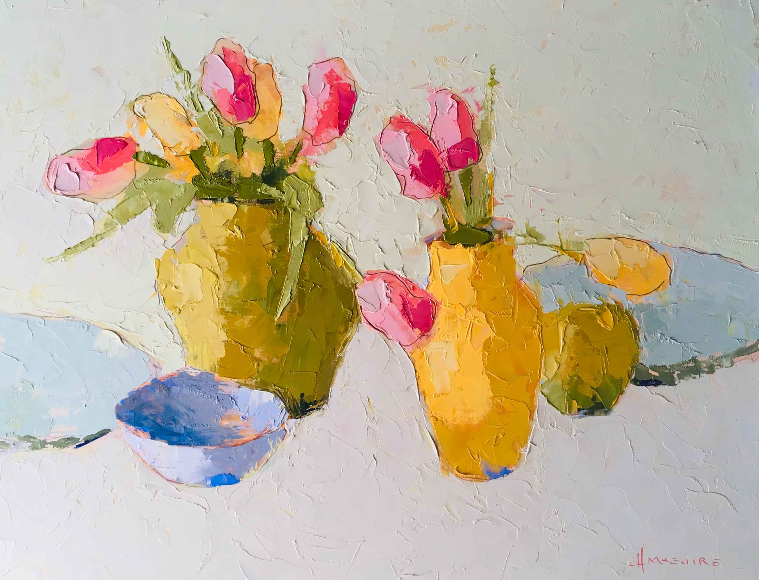 Spring Bouquets by  Carol Maguire - Masterpiece Online