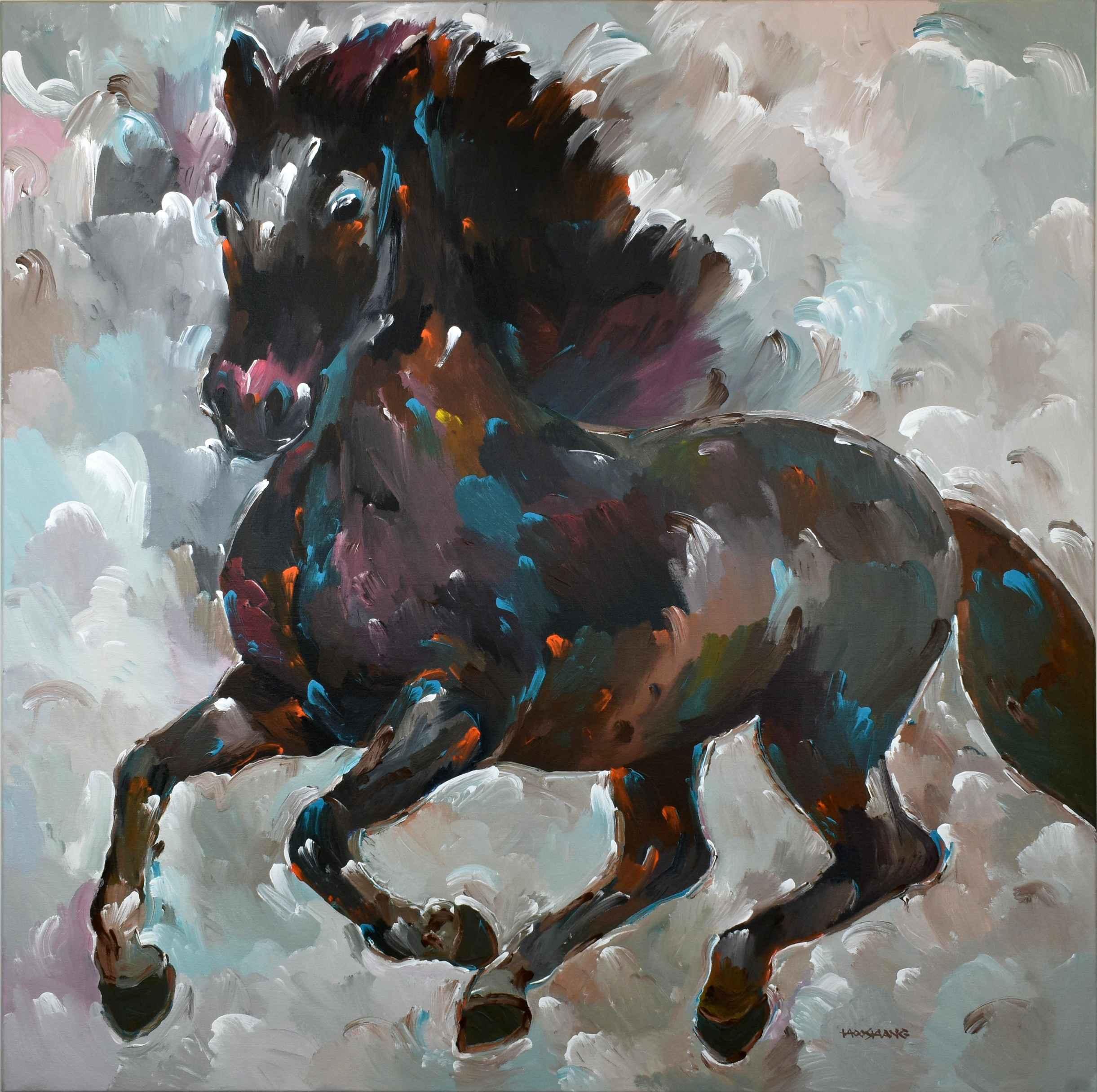 Black Thunder by  Hooshang Khorasani - Masterpiece Online