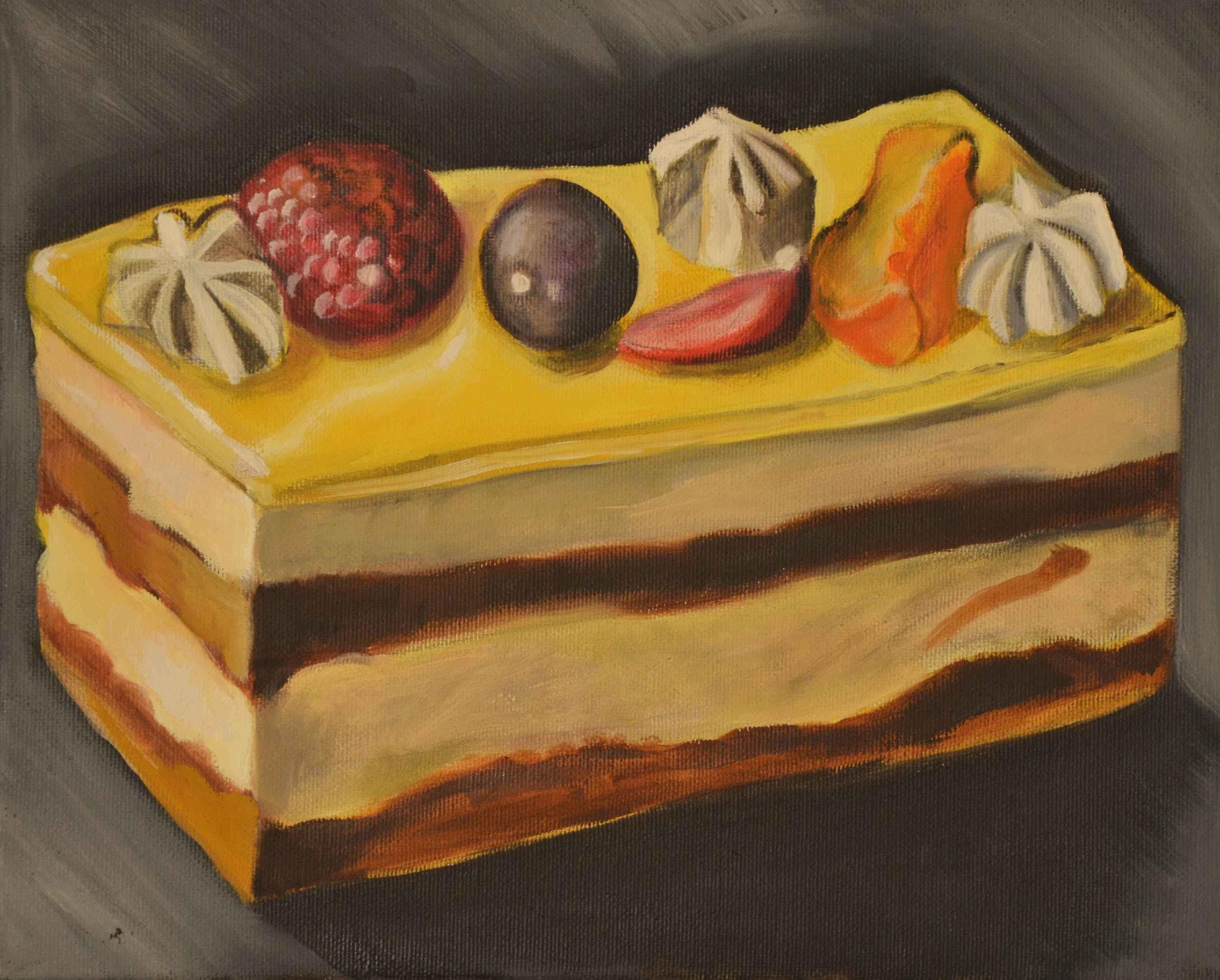 Gâteau aux Fruits II by Ms. Rebecca Vincenzi - Masterpiece Online