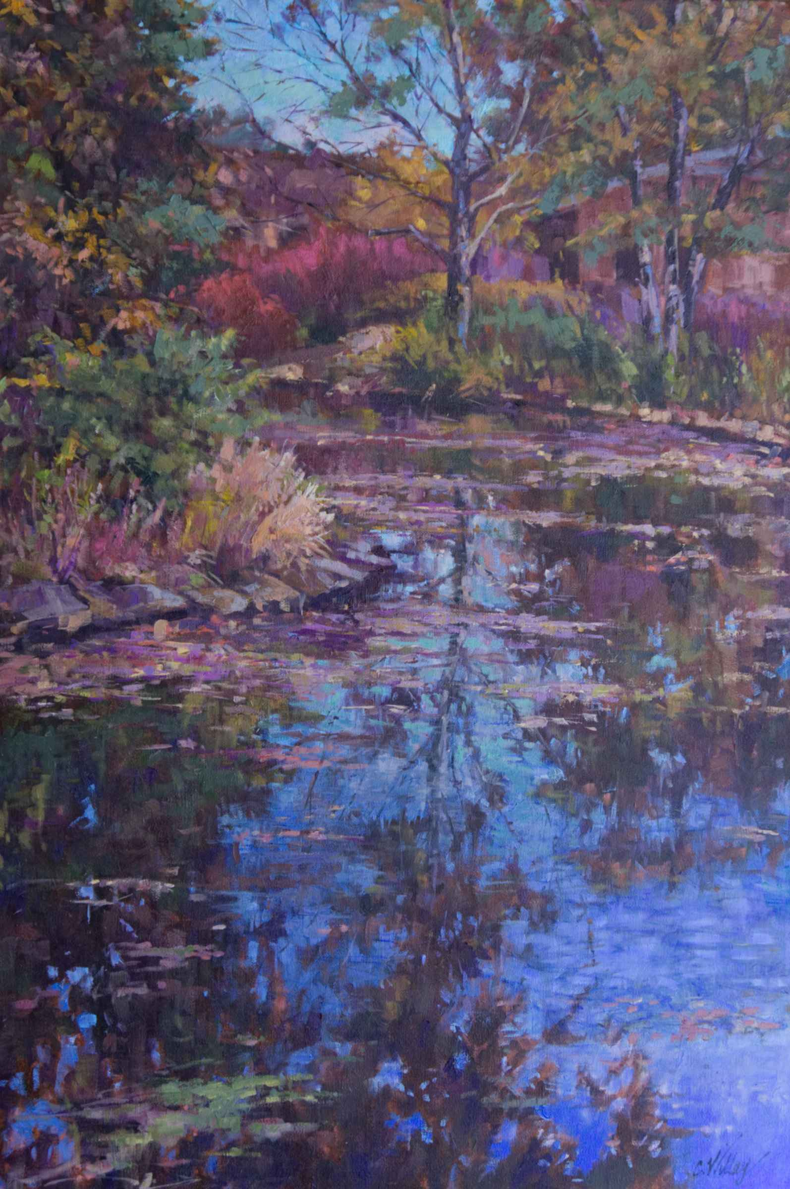 Fall's Last Glory by  Chris Willey - Masterpiece Online