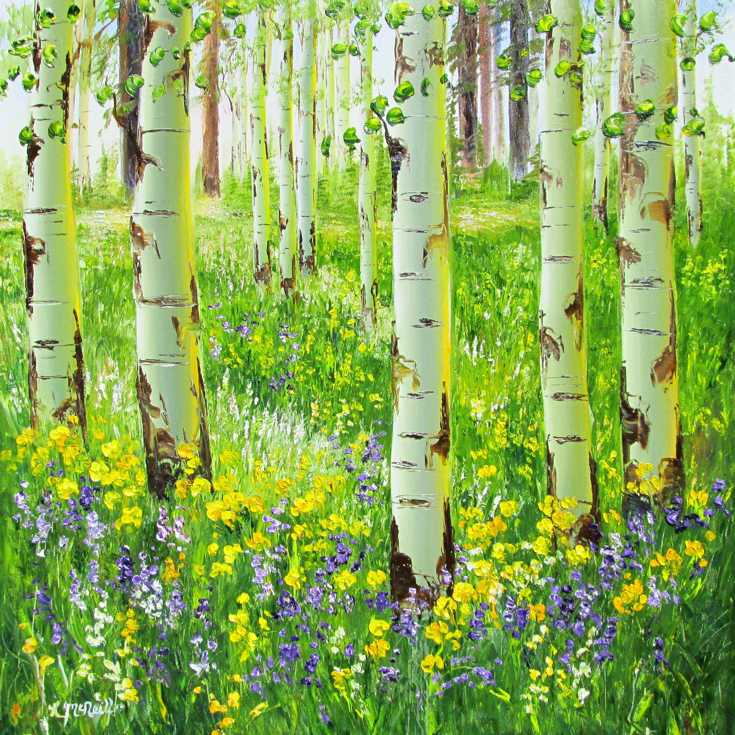Springtime in the Roc... by  Katherine McNeill - Masterpiece Online