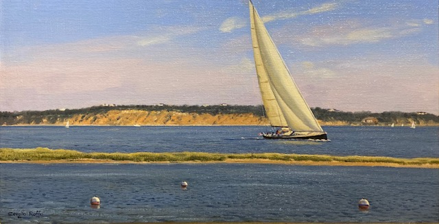 Approaching the Harbor by  Sergio Roffo - Masterpiece Online