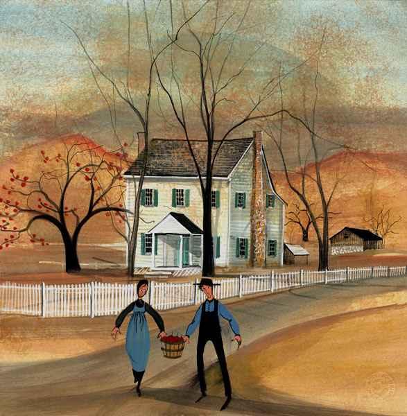 DP-Loudoun Harvest by  P. Buckley Moss  - Masterpiece Online