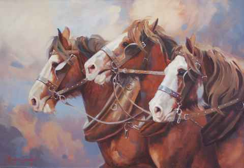 Blade Runners by  Carolyne Hawley - Masterpiece Online