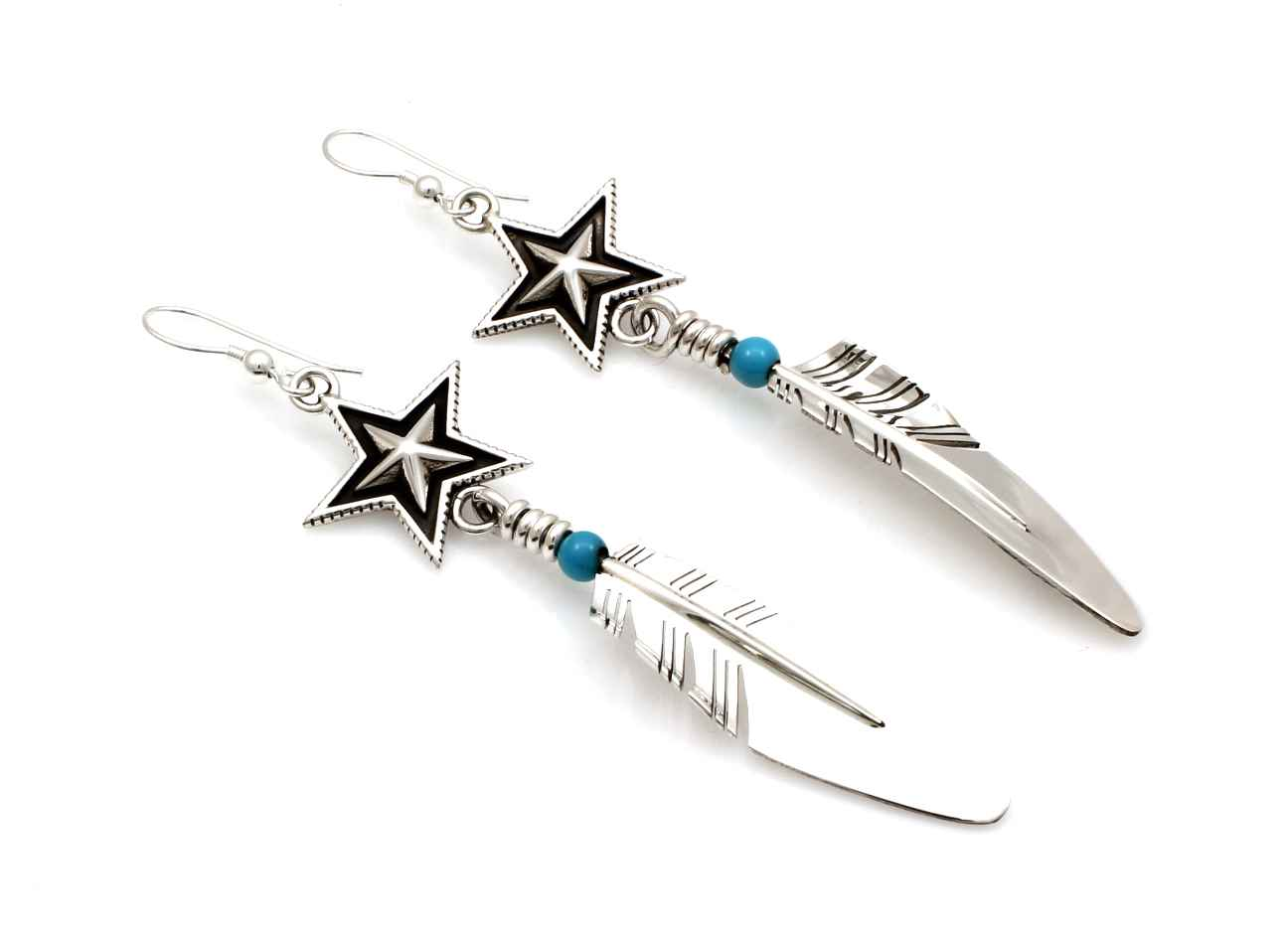 Medium Star-Feather E... by  Ray Tracey Cody Sanderson - Masterpiece Online