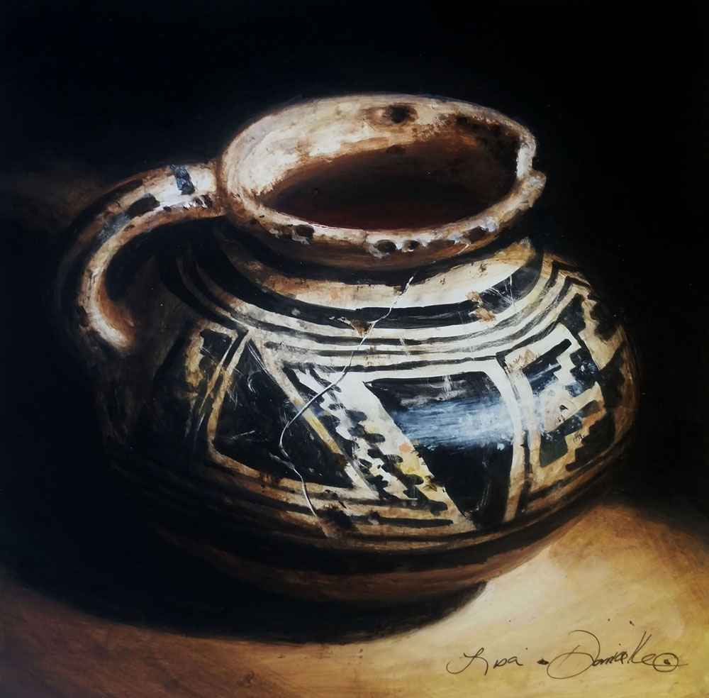 Little Anasazi Cup of...  by  Lisa Danielle