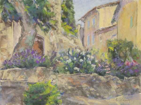 Le Barroux Village by  Chris Willey - Masterpiece Online