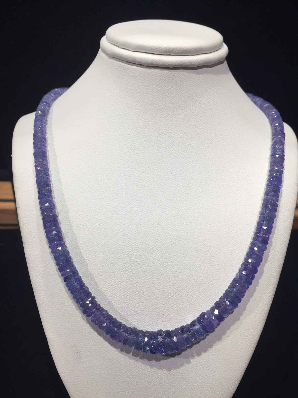 Tanzanite Faceted Whe... by  Paula Nurse - Masterpiece Online