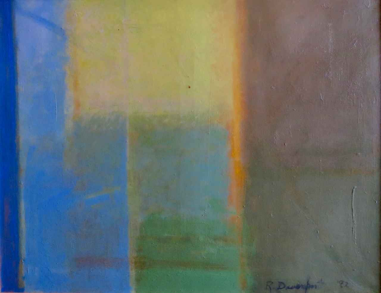 Through the Window by  Roselle Davenport (1914-1997) - Masterpiece Online