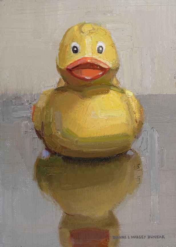 Rubber Duckie by  Dianne Massey Dunbar - Masterpiece Online