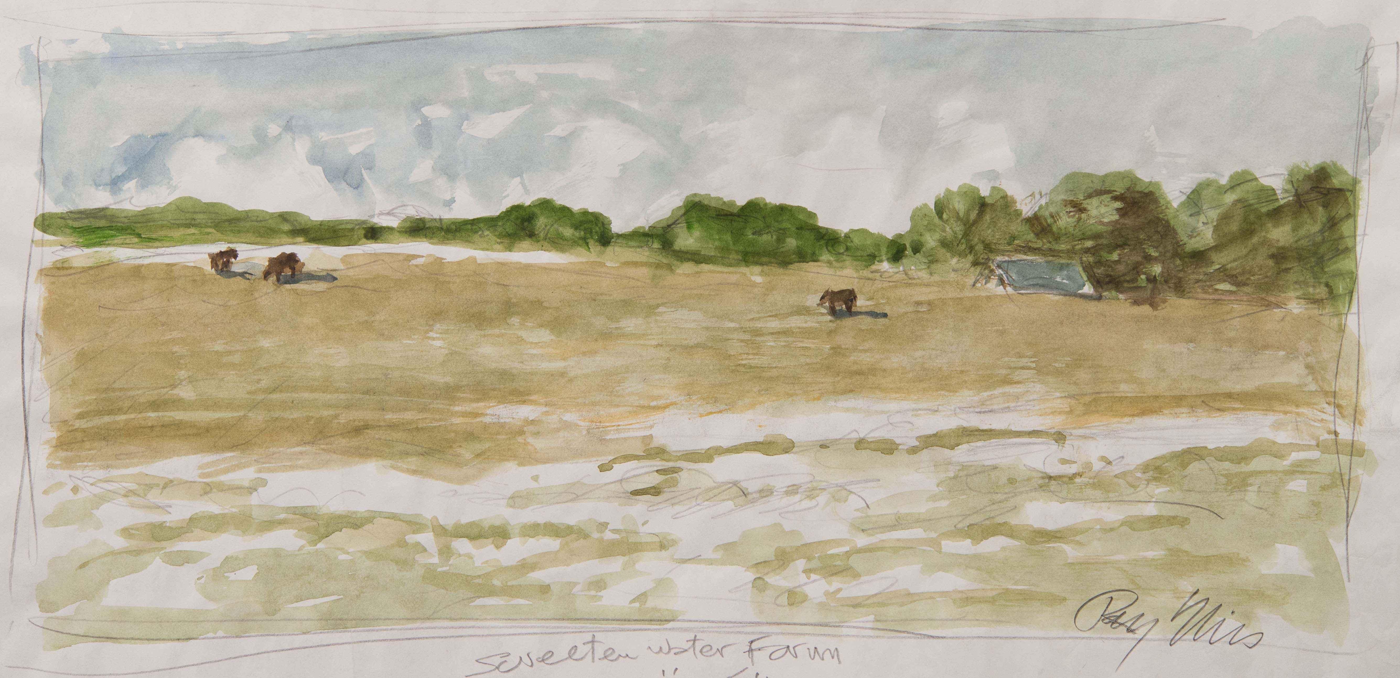 Sweeten Water Farm, s... by  Ray Ellis - Masterpiece Online