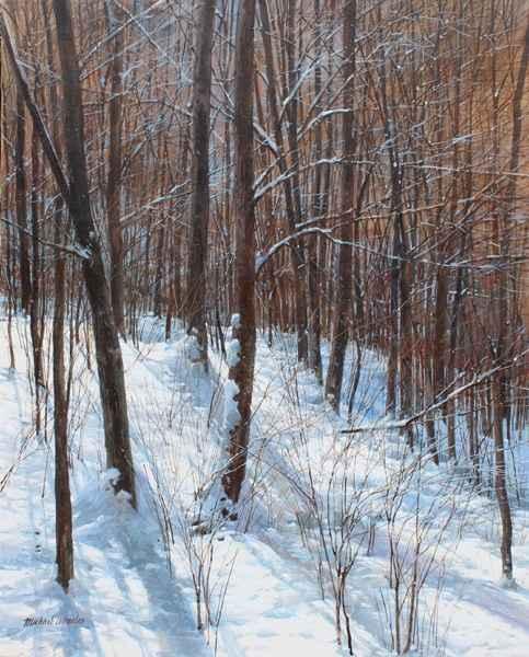 Undergrowth - January... by  Michael Wheeler - Masterpiece Online