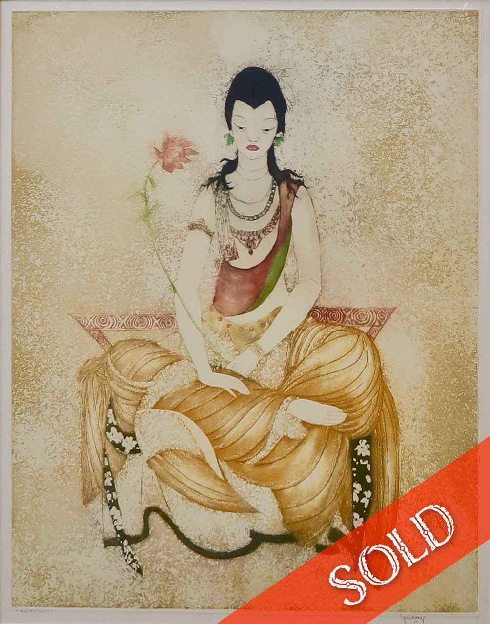 Horyuji by  John M. Kelly (1878-1962) - Masterpiece Online