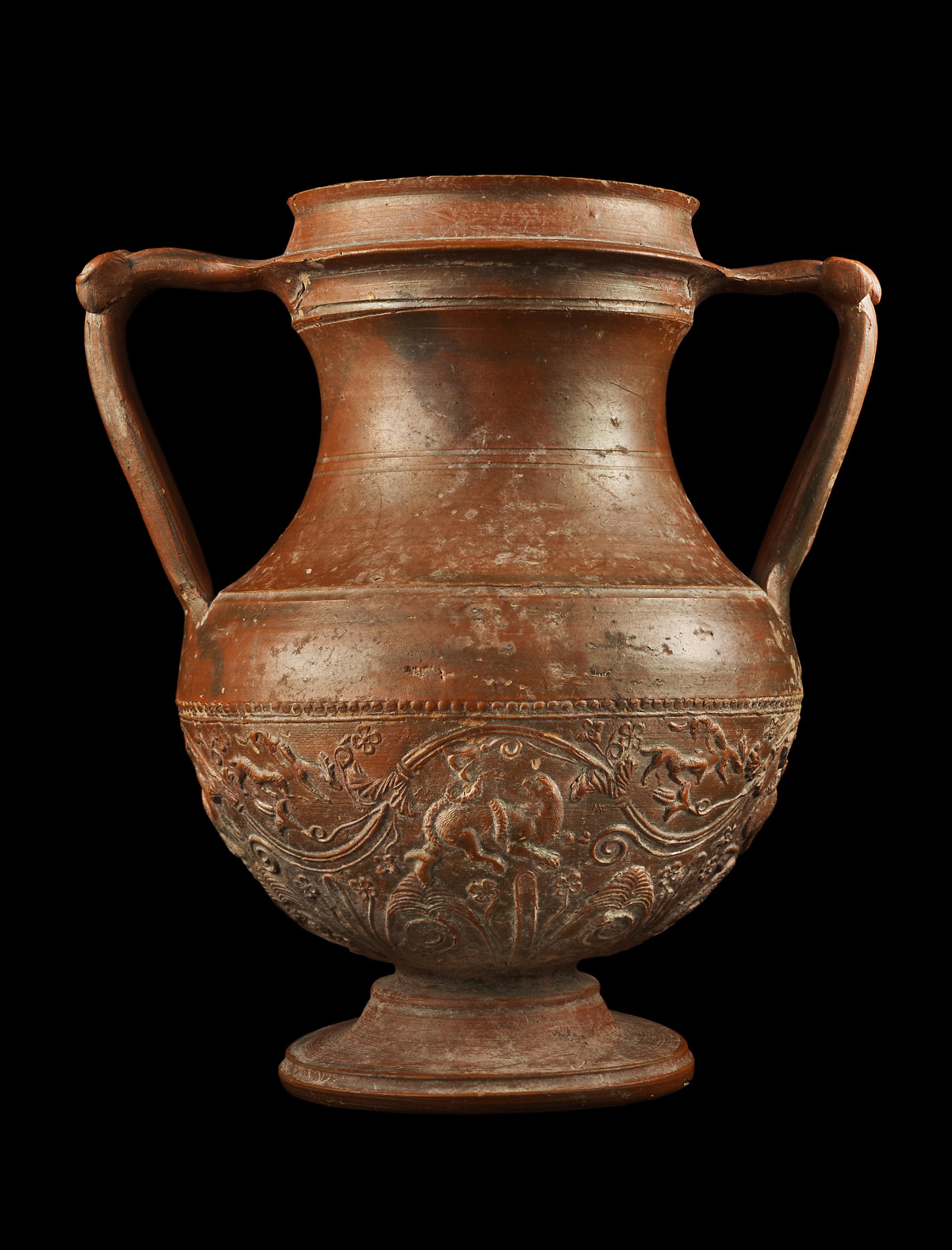 Terra Sigillata Ampho... by   Roman - Masterpiece Online