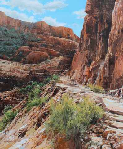 Up From the Canyon by  Michael Wheeler - Masterpiece Online
