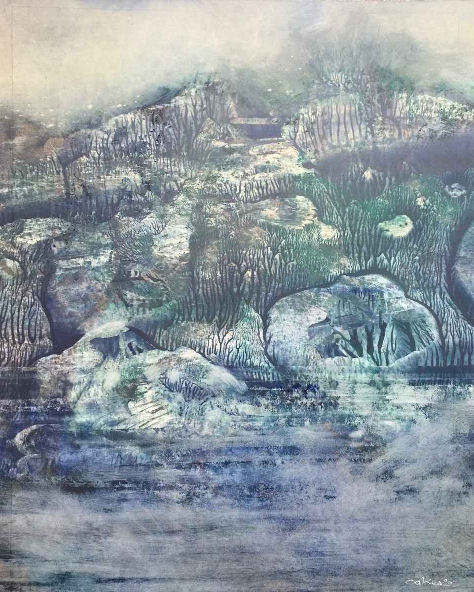 Mystical Shore by  Bill Oakes - Masterpiece Online