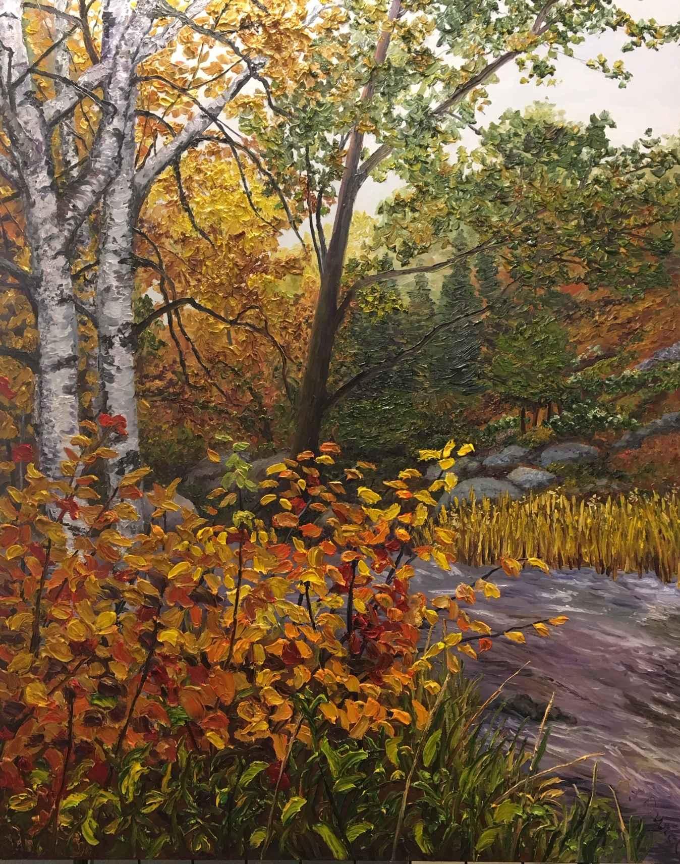 A River Runs Through ... by Ms Debra Lynn Carroll - Masterpiece Online