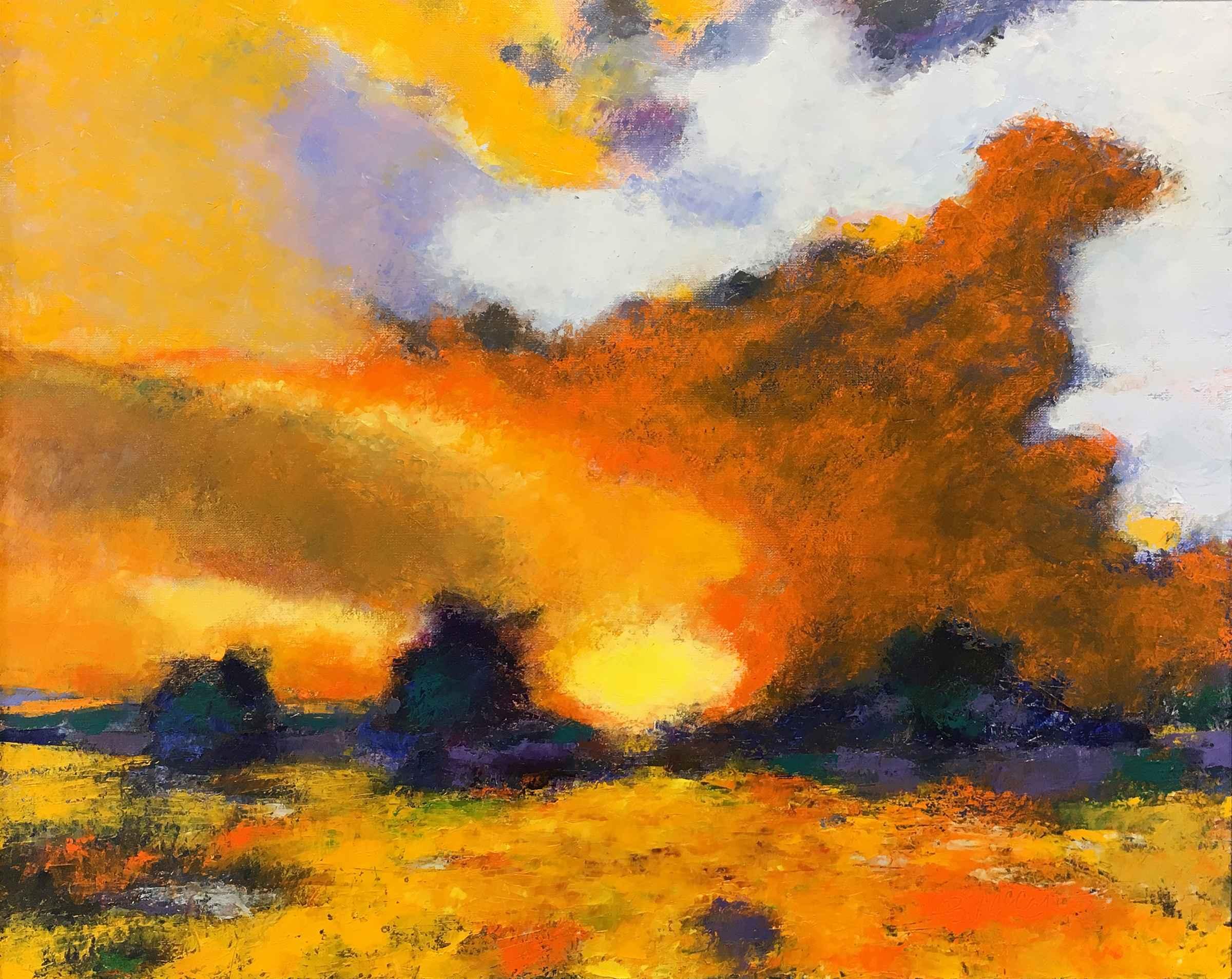 Prairie Sunset by  Bill McCall - Masterpiece Online
