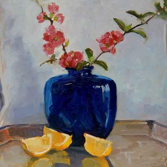 Blue Vase by  Robin Weiss - Masterpiece Online