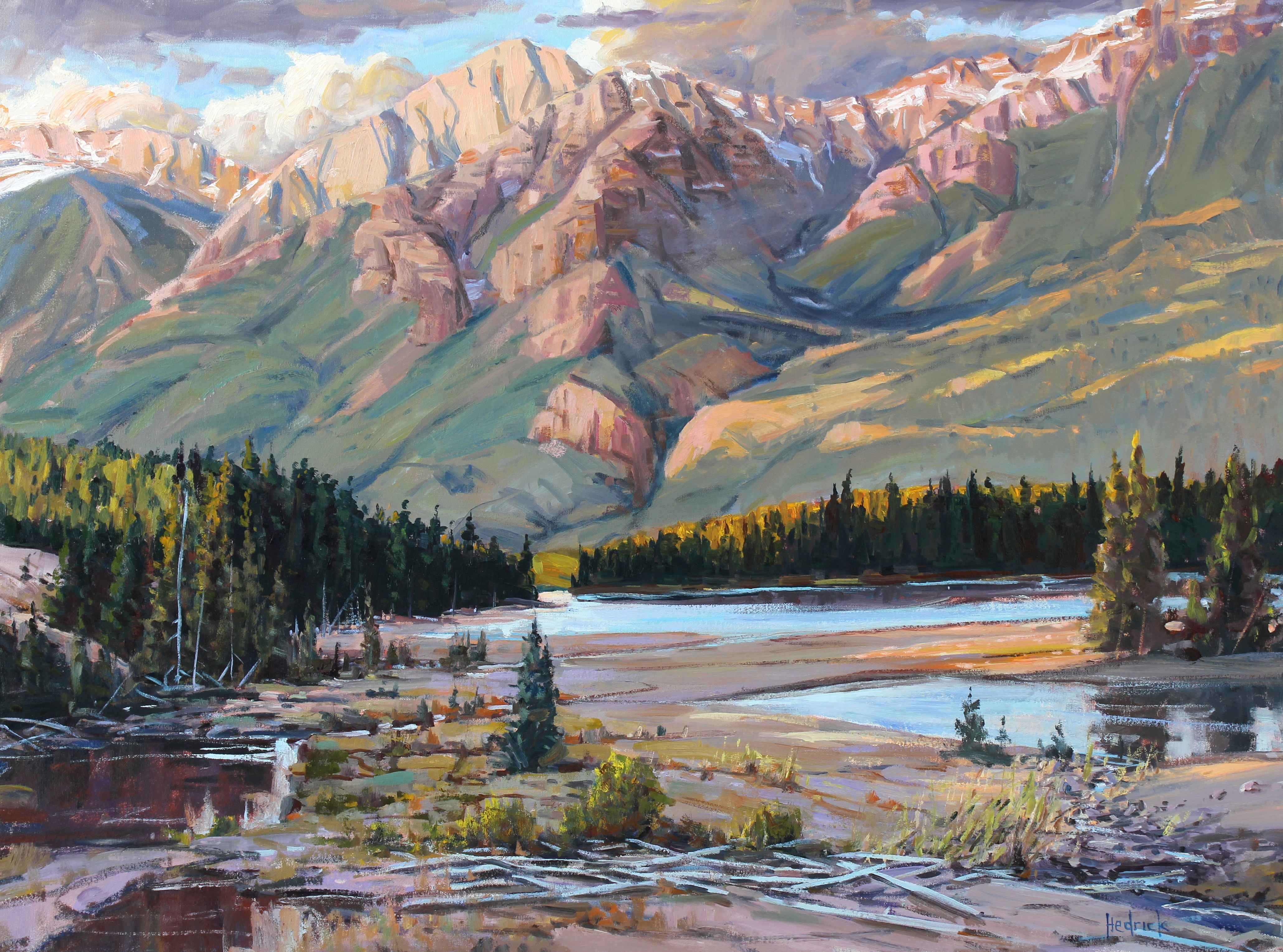 Alberta Foothills  by  Ron Hedrick