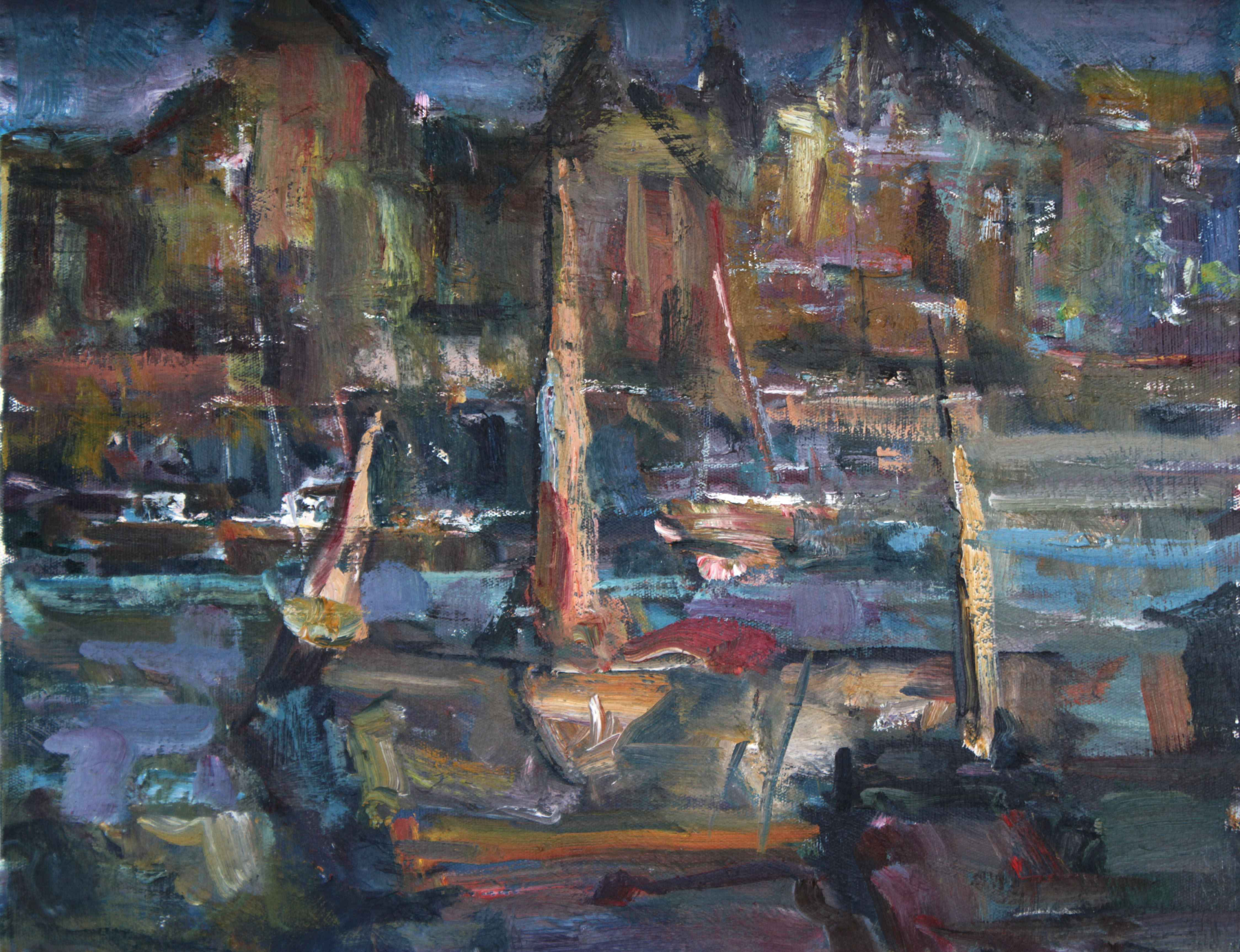 Island Harbour by  Fred Cameron - Masterpiece Online