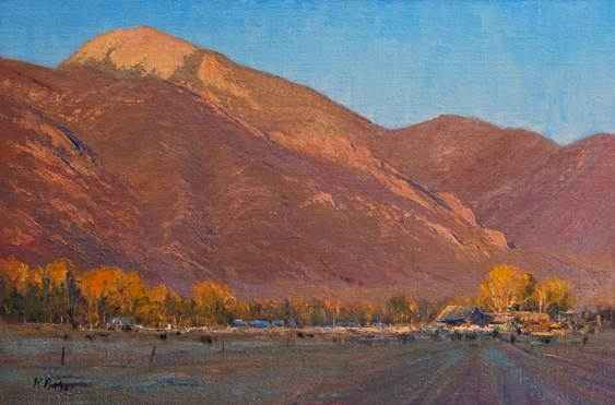 Taos Sunset by Mr Richard Prather - Masterpiece Online