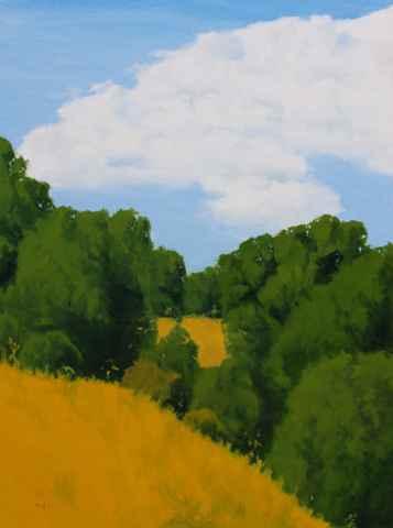 Hillside Oaks by  Donald  Craghead - Masterpiece Online