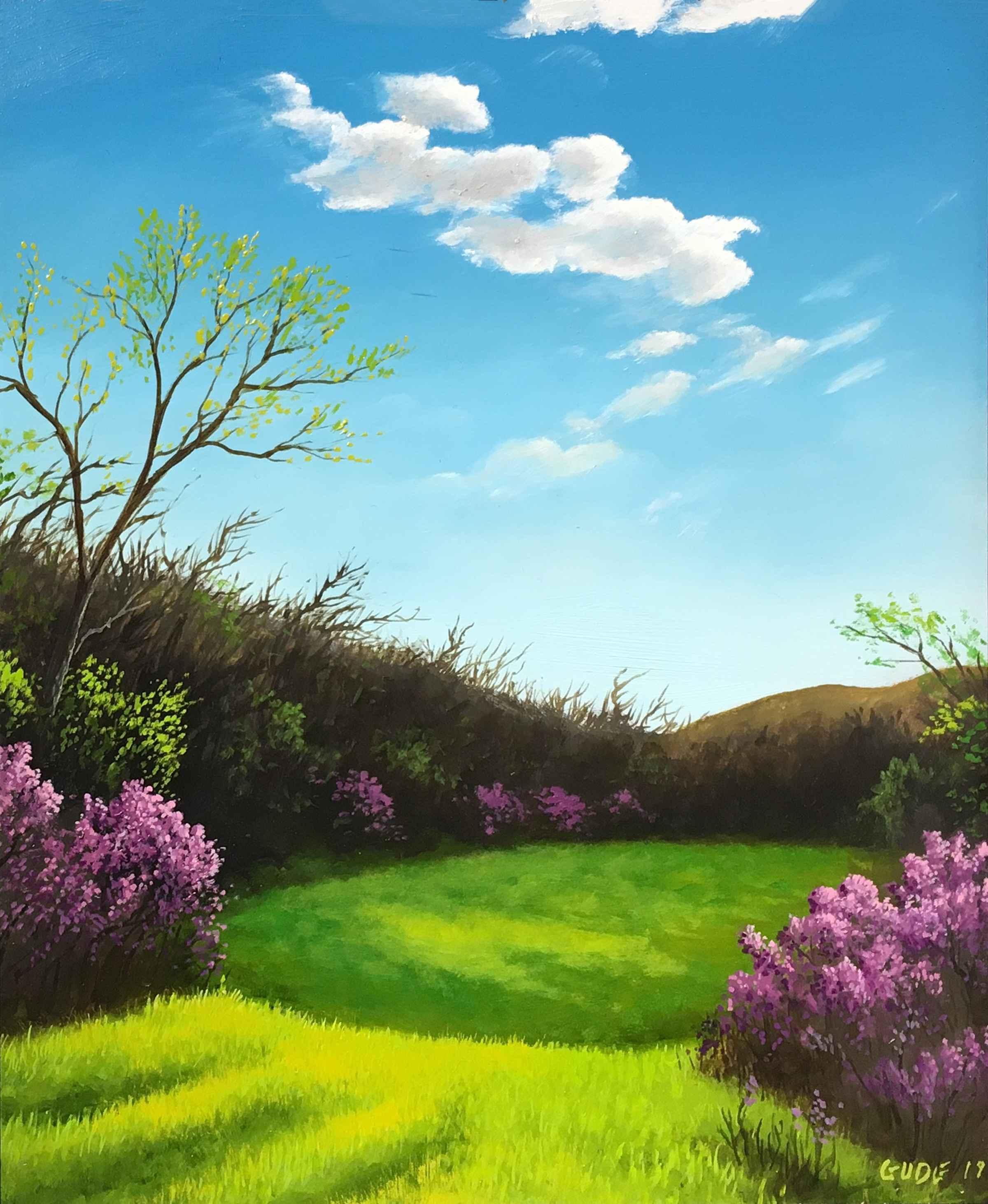 Early Spring  by  Anthony Benton Gude