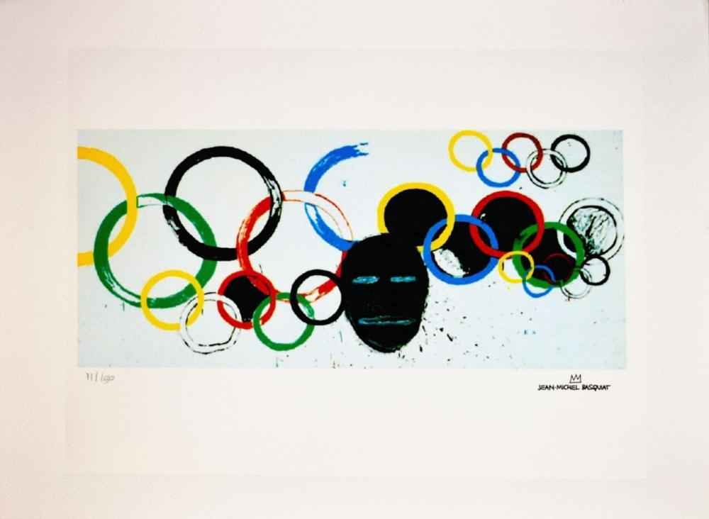 Olympic Rings by  Jean-Michel Basquiat - Masterpiece Online
