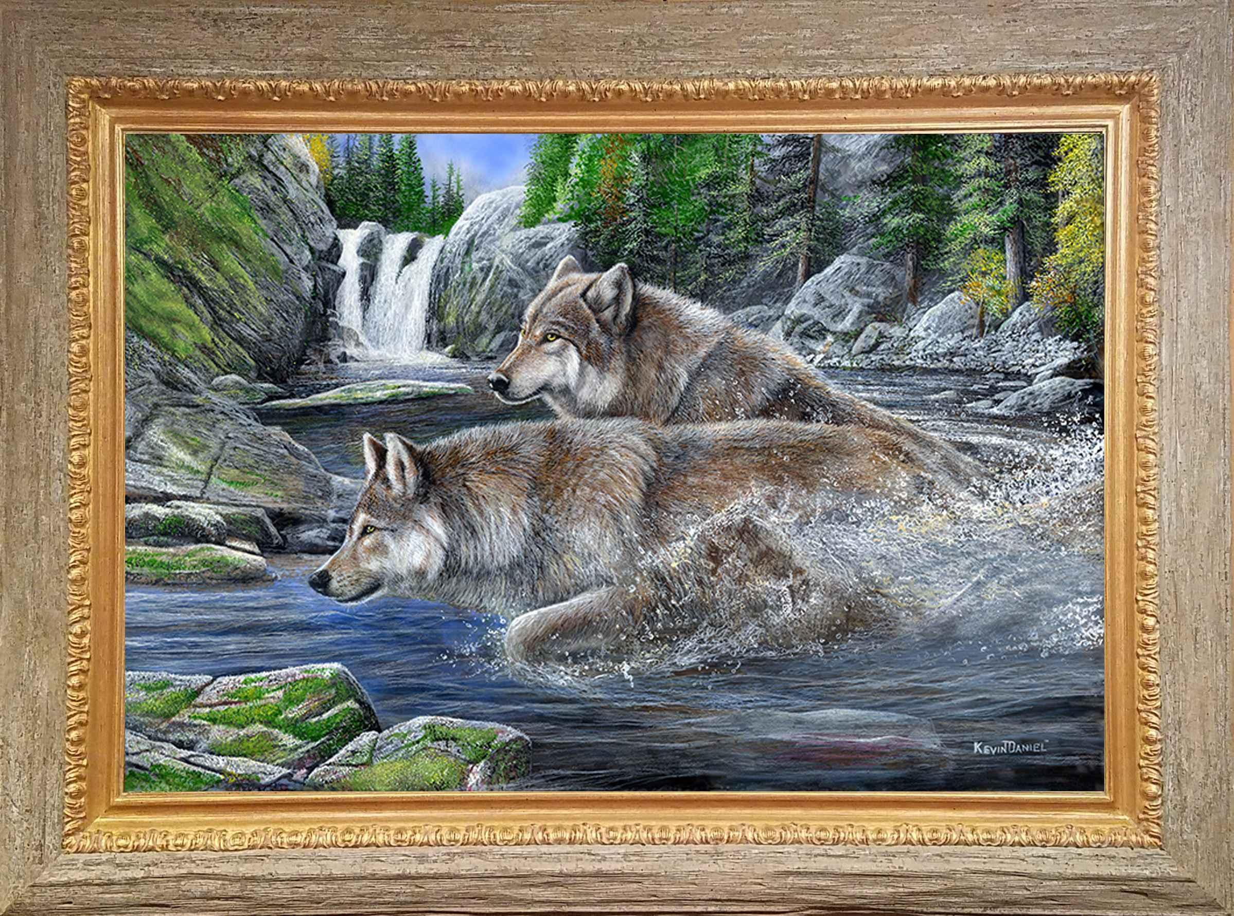 Treacherous Crossing by  Kevin Daniel - Masterpiece Online