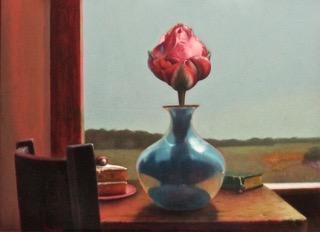 Unusual Tulip in Vase