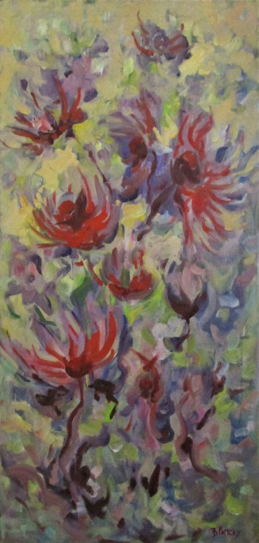 Untitled ( red bee ba... by  Blanche Patecky - Masterpiece Online