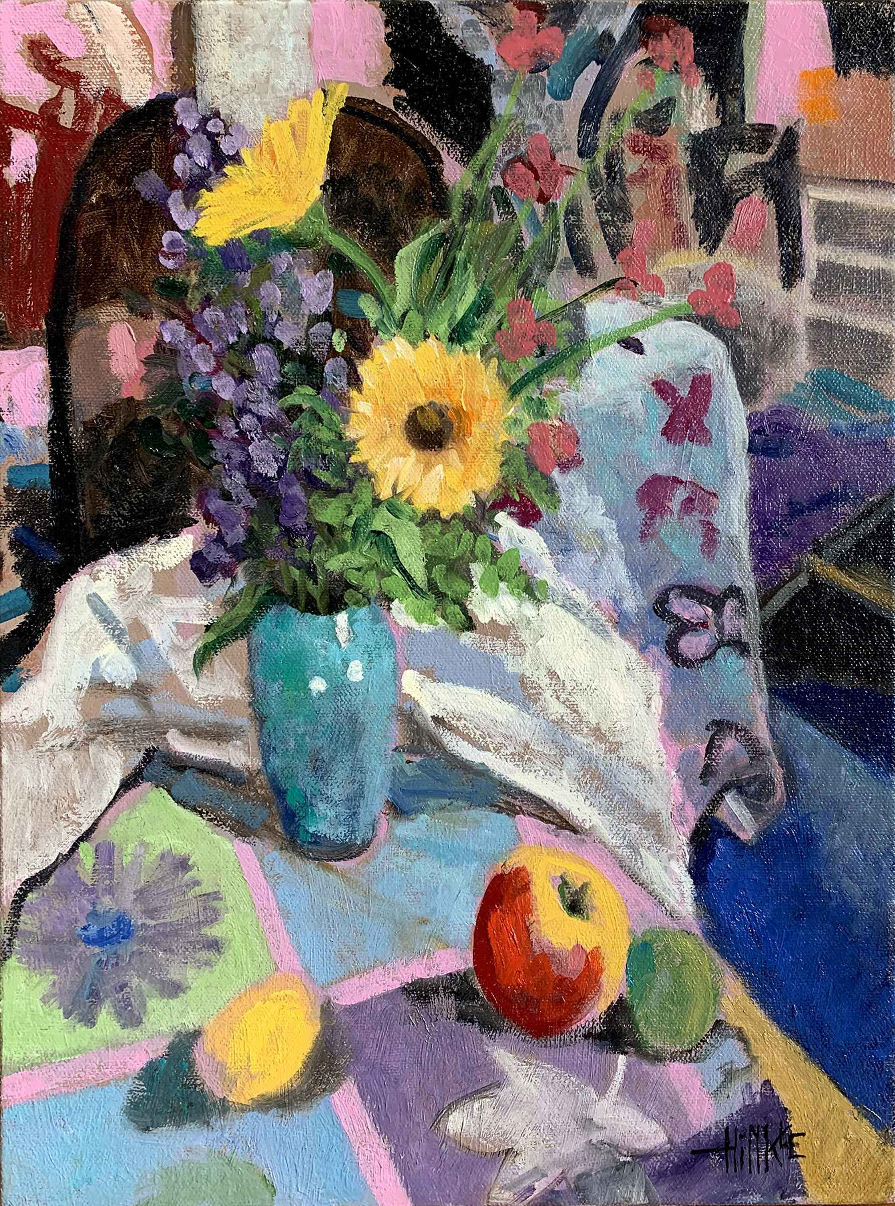 Still Life with Flowe... by  Brian Hinkle - Masterpiece Online