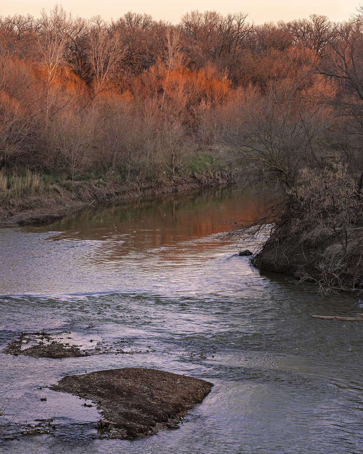 Smoky Hill River from... by  George Jerkovich - Masterpiece Online