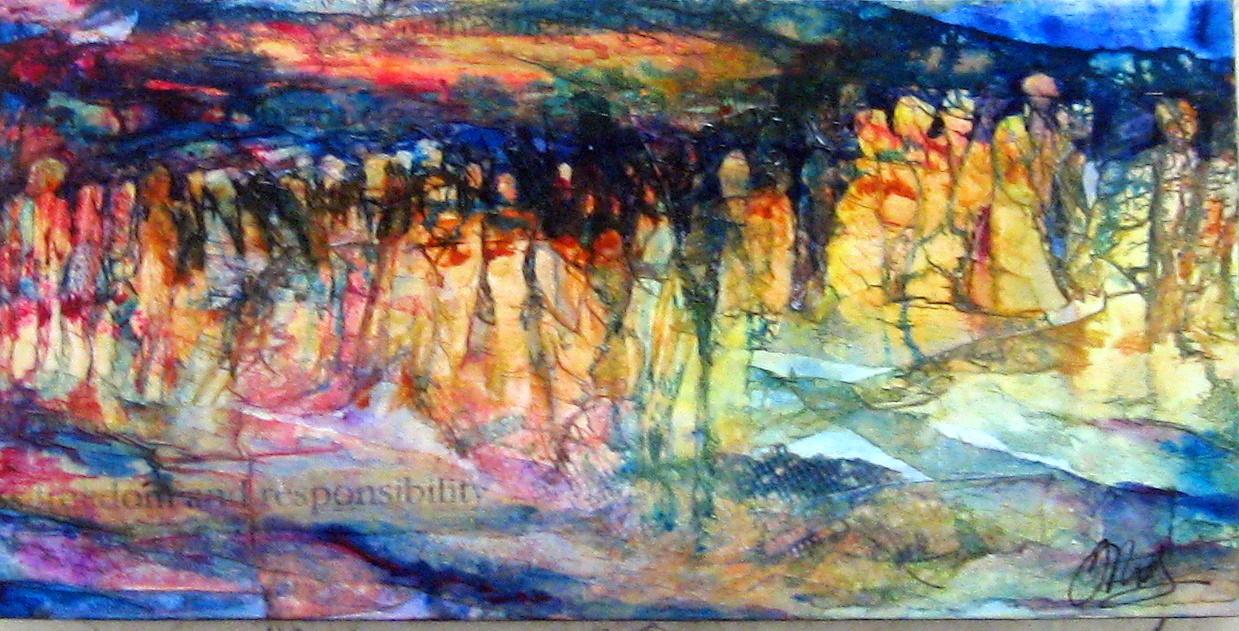 Exodus by Ms. Margaret Rodriguez - Masterpiece Online