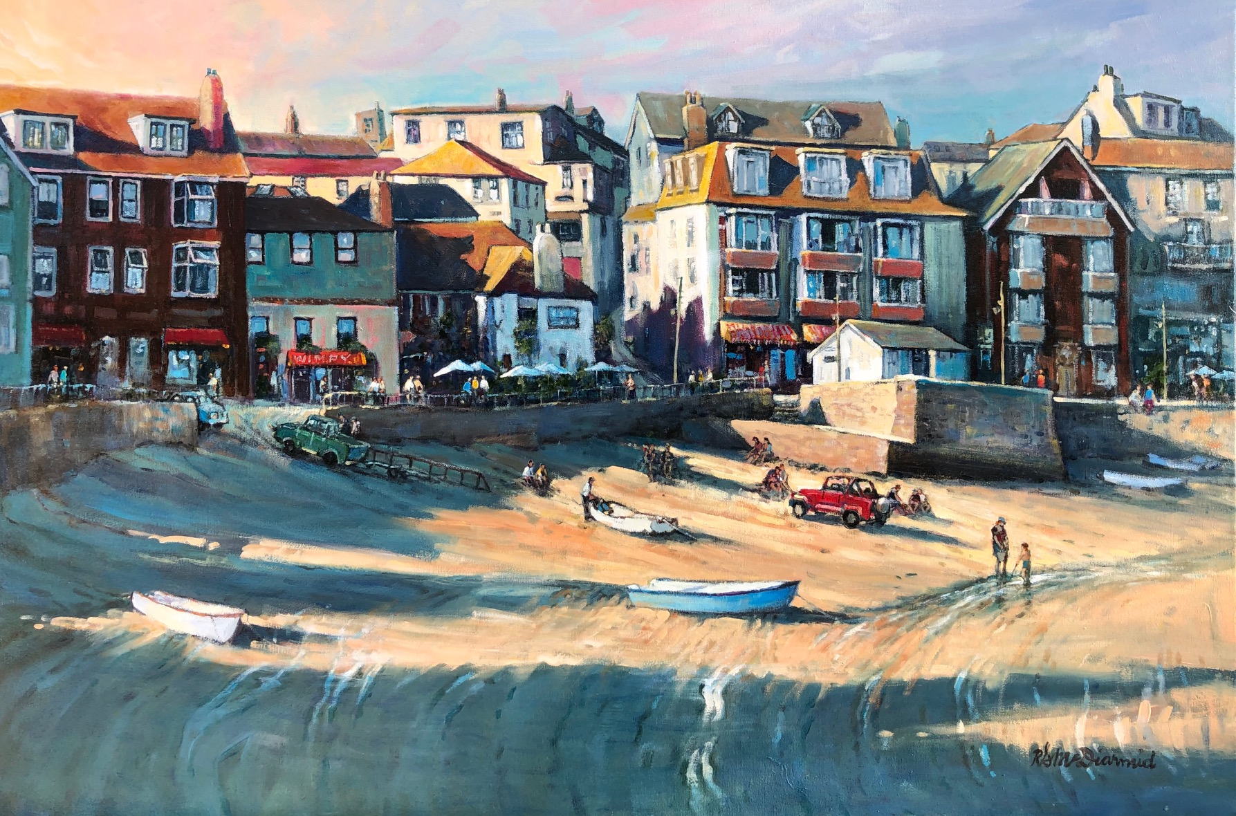 Late Day St. Ives by  Rick McDiarmid - Masterpiece Online