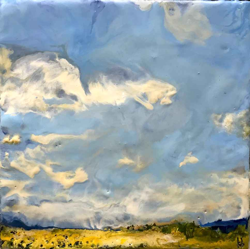 Little Sky #2 by  Kathy Bradshaw - Masterpiece Online