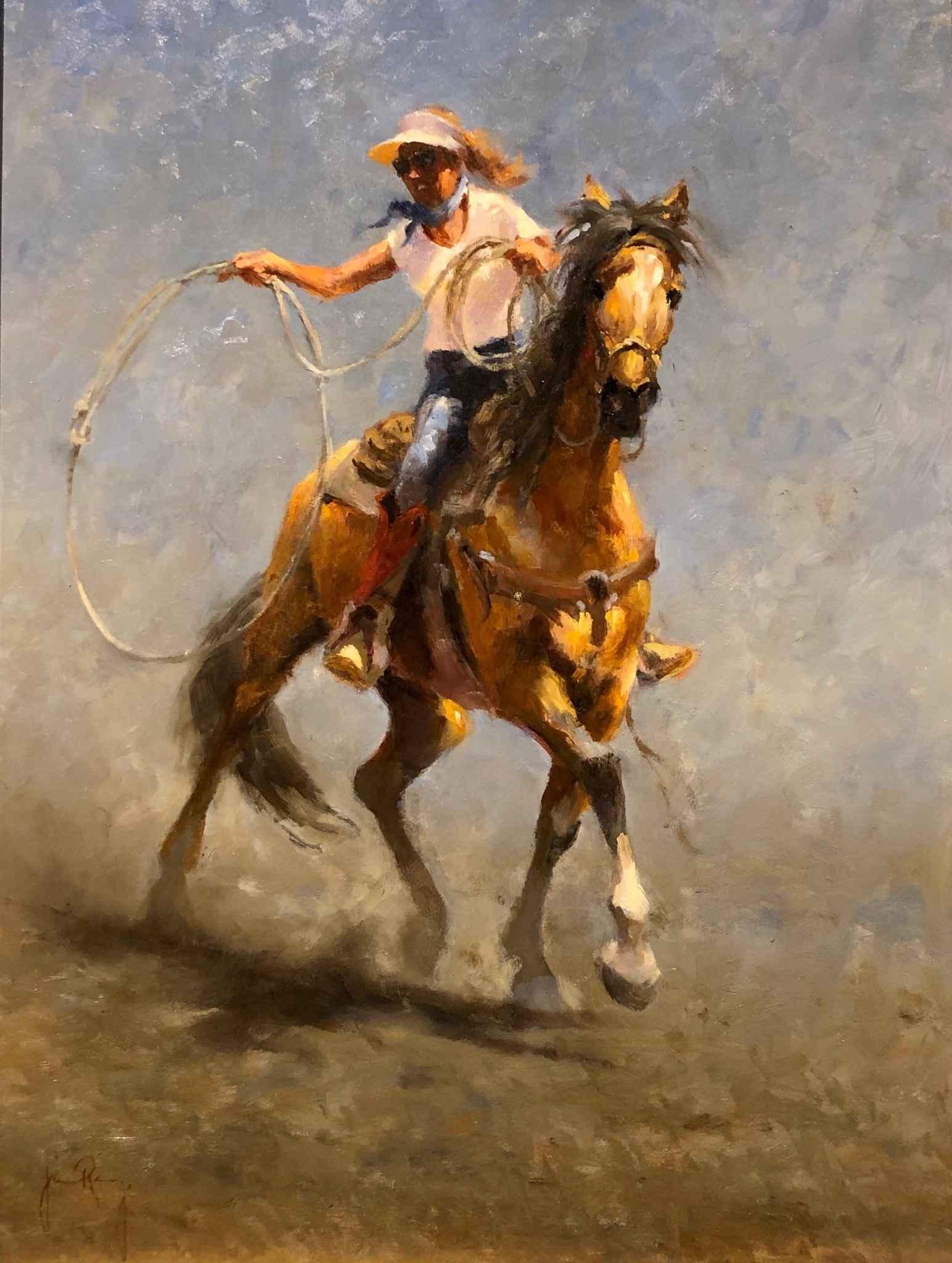 Shaping Her Loop by  Jim Rey - Masterpiece Online